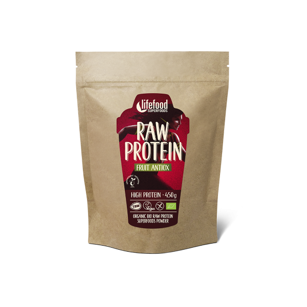 Pudra proteica Fruit Antiox Superfood raw eco 450g 0